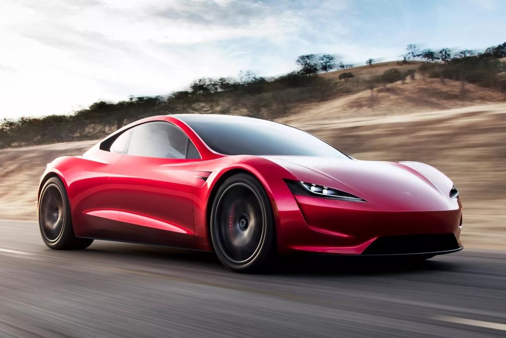 车屁股上装火箭推进器 新款Roadster要上天?