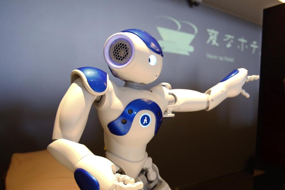 """每晚17000日元的""""奇特酒店"""" 全是机器人"""