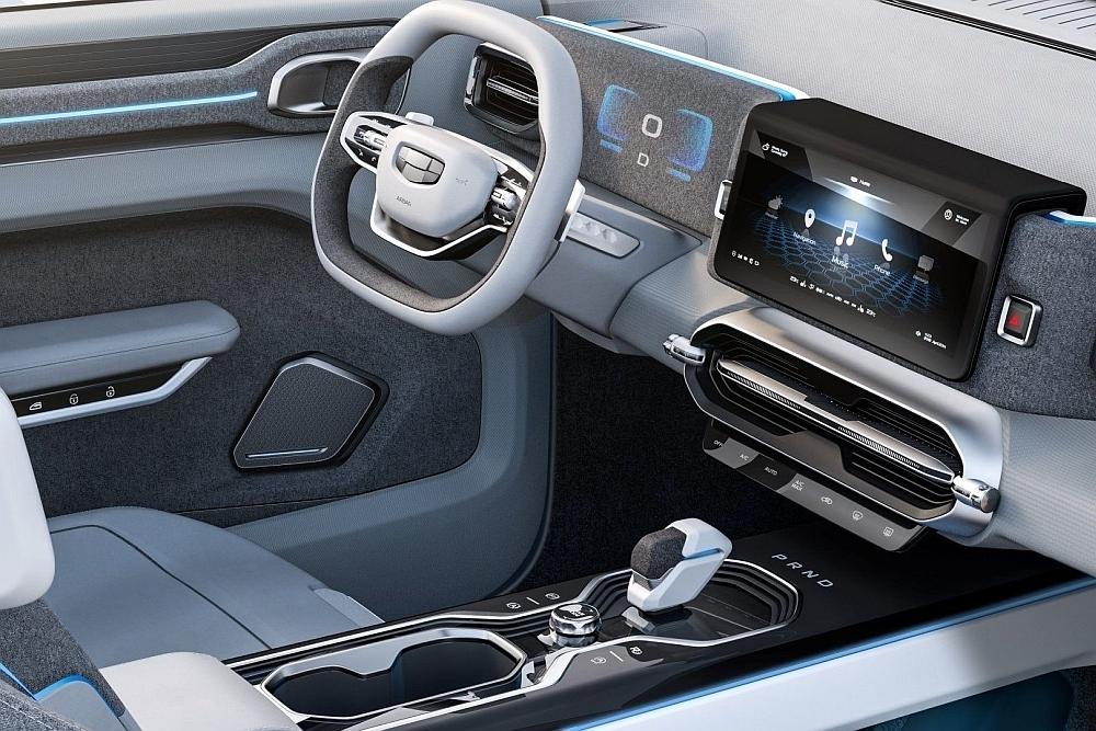 拒绝跟风演绎未来范儿 吉利全新SUV有点帅