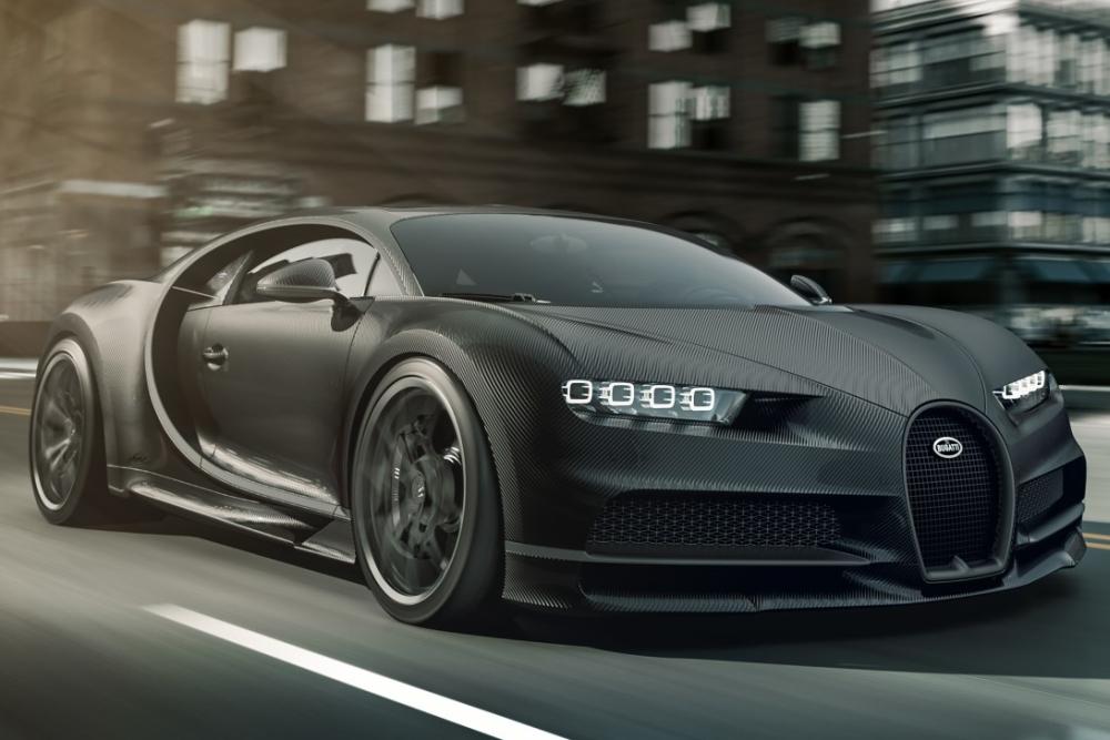 布加迪打造纯黑版超跑:全球限量20辆