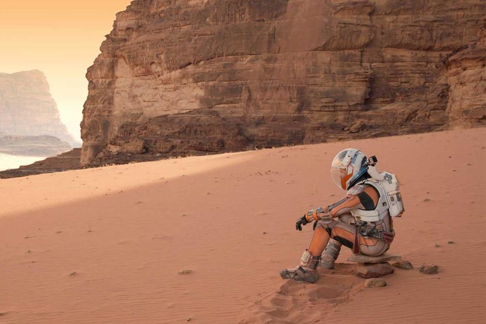 宜家为未来的火星生活设计了一间房子