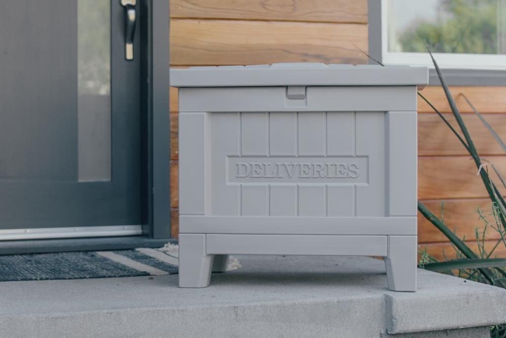 智能家用快递箱 不在家也可以收快递