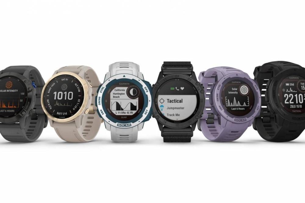 Garmin发布一系列智能手表新品 标配太阳能充电