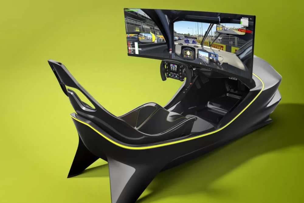 阿斯顿马丁发布新赛车模拟器 可能是最酷电子竞技设备