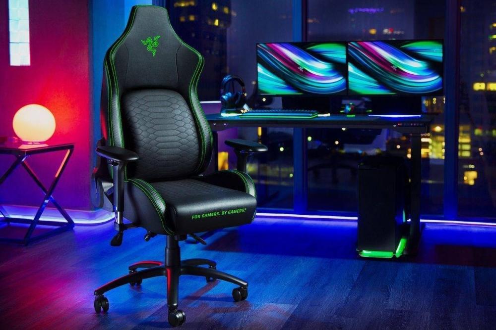 雷蛇推出旗下首款电竞椅Iskur:主打腰椎支撑