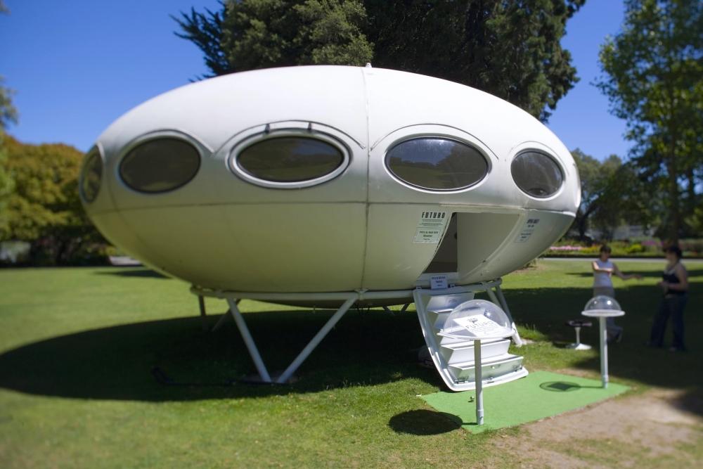 """罕见的UFO形""""世外桃源未来屋""""登陆新西兰市场"""