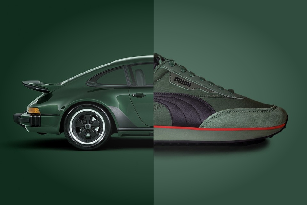 保时捷与PUMA合作推出限量版联名鞋款