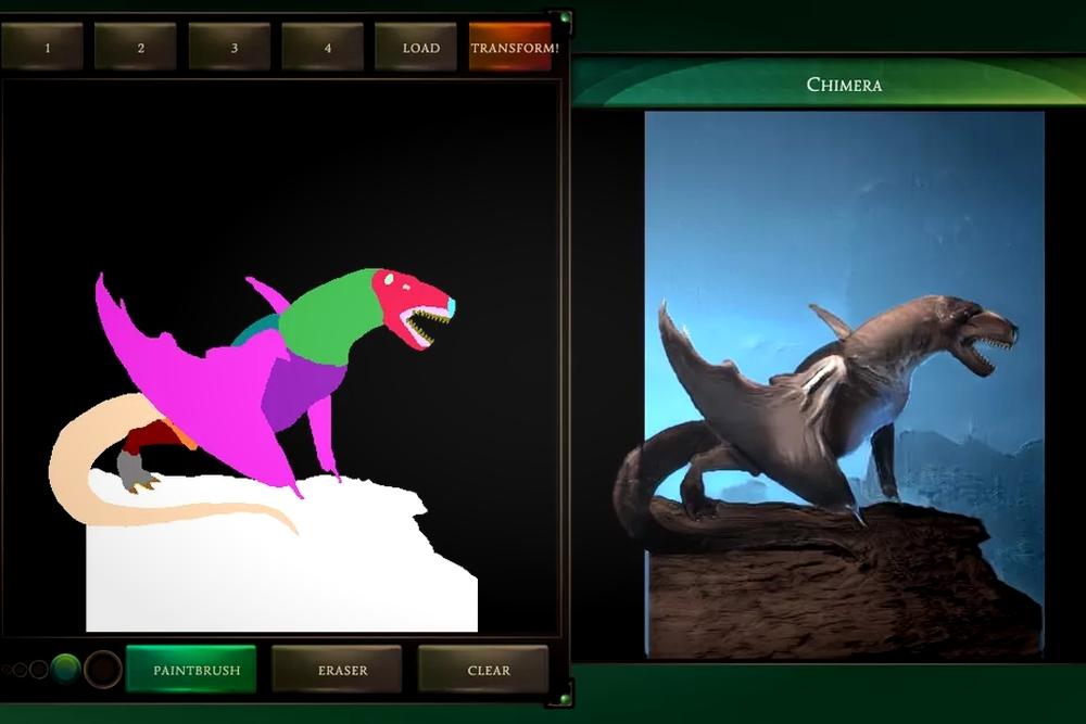 谷歌AI一键生成定制版3D游戏神兽 可在线体验