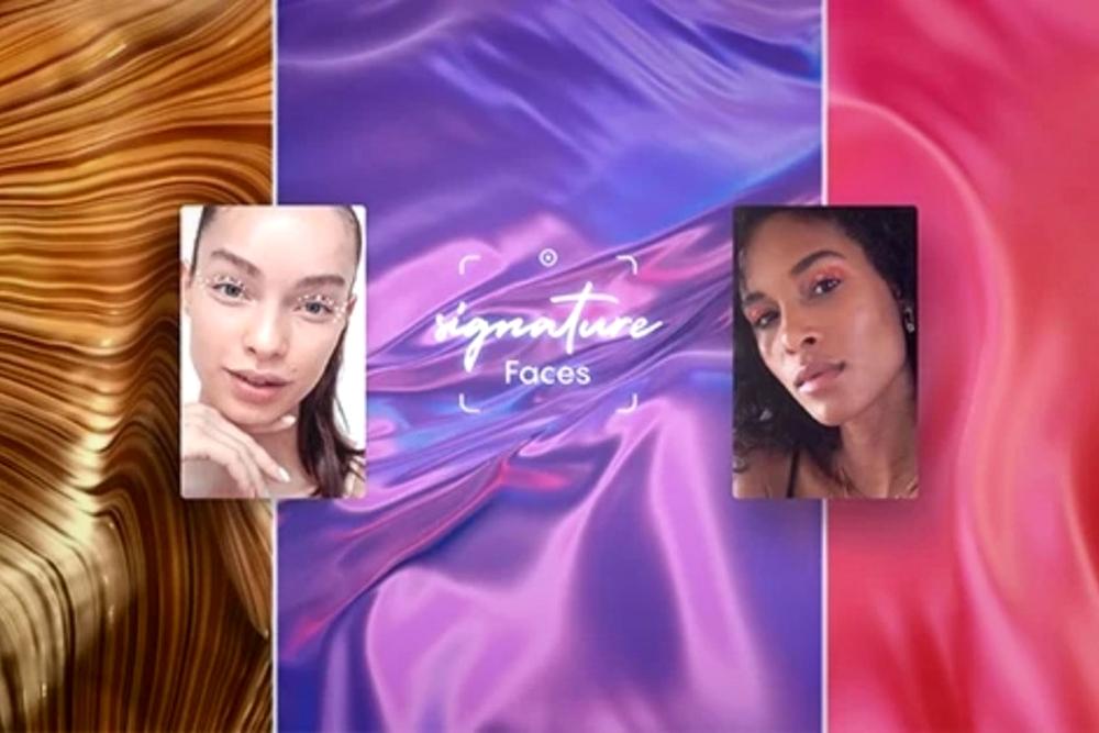 欧莱雅为社交媒体推出AR化妆滤镜Signature Faces