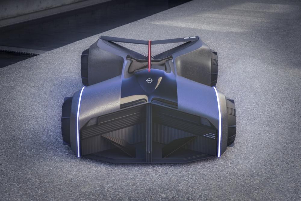 暢想未來汽車世界:日產打造由意念控制的概念車GTR-X