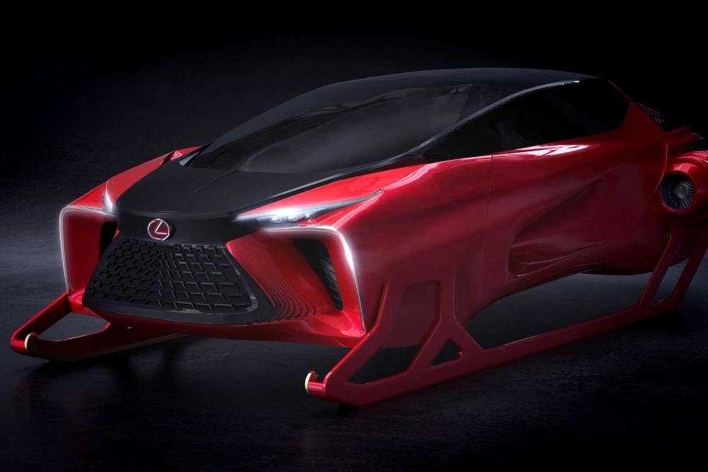 雷克薩斯發布圣誕雪橇車:外形科幻 全馴鹿驅動