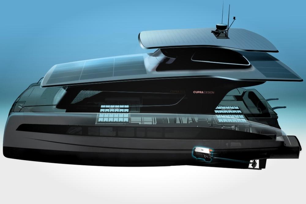 大众汽车MEB平台有了新用法:打造一艘零排放游艇
