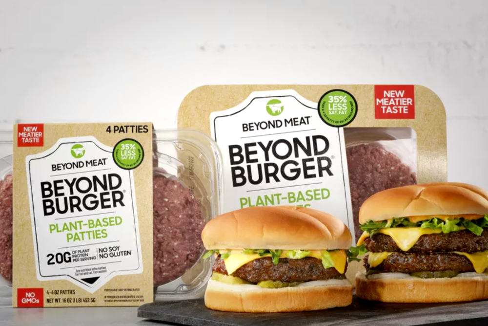 Beyond Burger 3.0植物性汉堡包发布