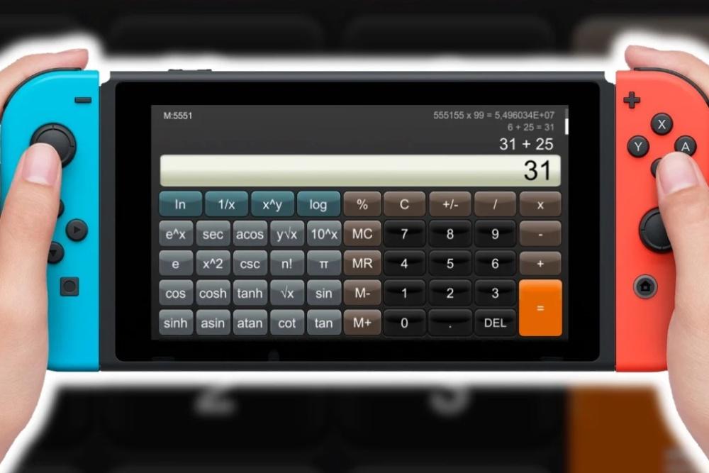 在Switch上做数学题是怎样的体验?