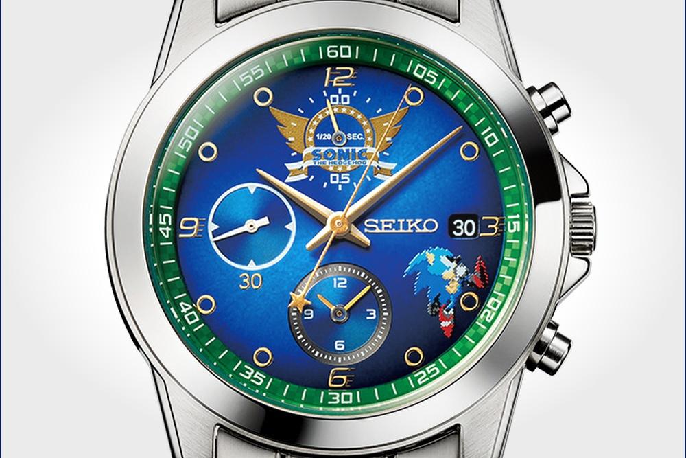 纪念刺猬索尼克30周年 帝国企业有限公司发售限量手表