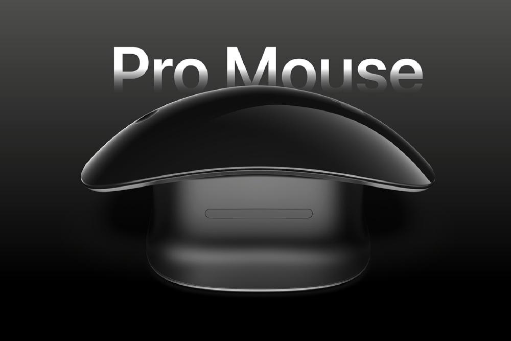 苹果概念鼠标渲染图曝光 充电口不反人类