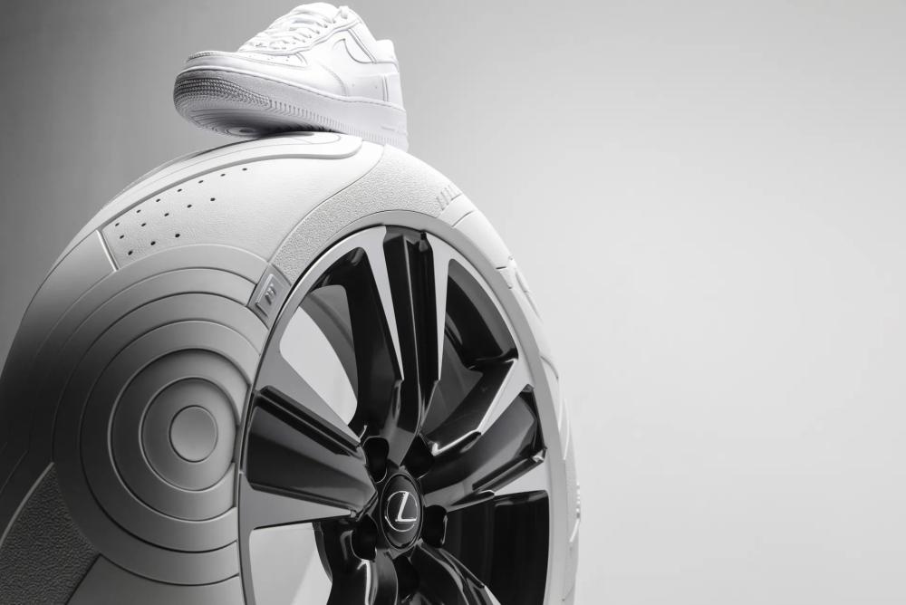 什么都联名? Lexus与Nike联名轮胎