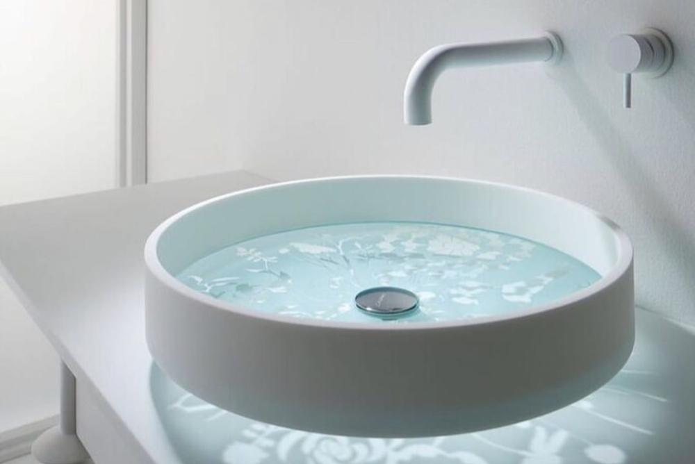 在洗脸时能让你感到升华的洗脸池
