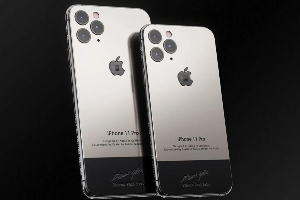 """""""乔布斯""""版iPhone 11 Pro/Max:约4.4万元起售"""