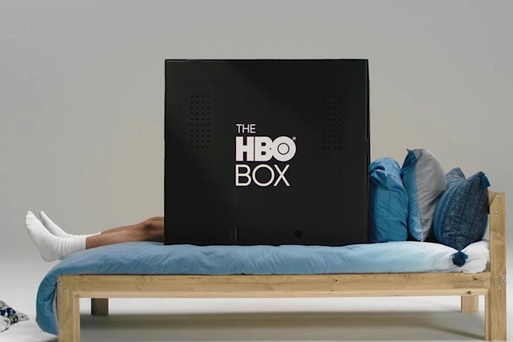 HBO推出大号黑色纸箱 堪称追剧神器