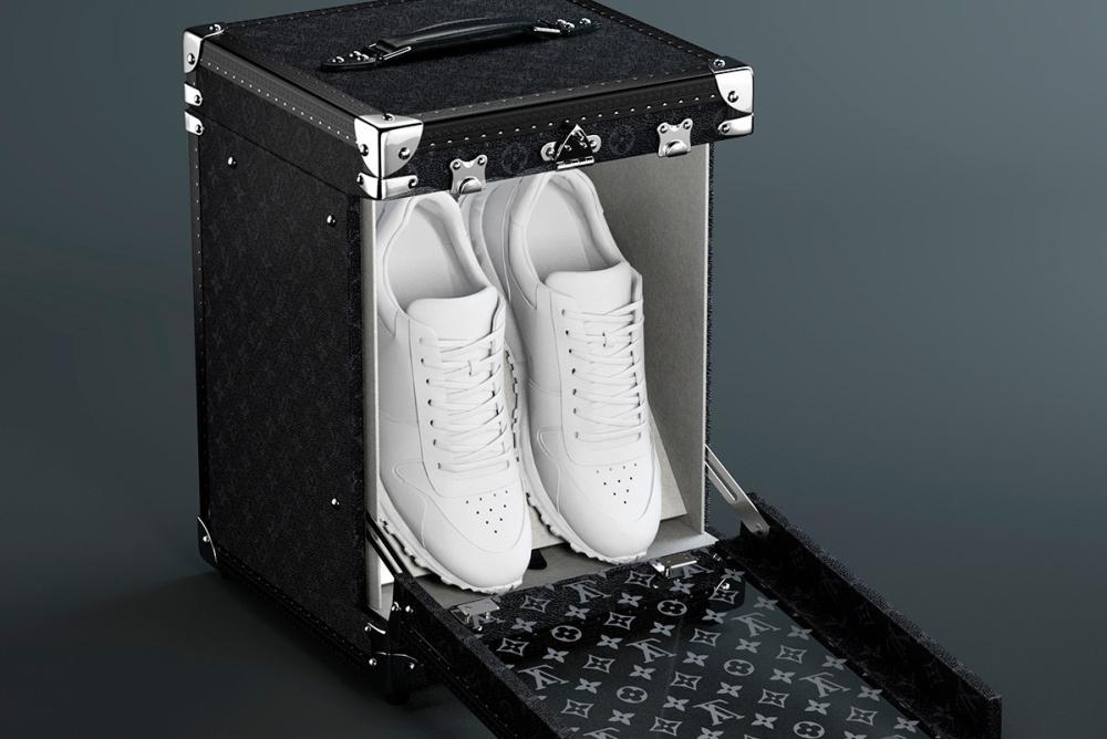 LV推出单双版鞋箱 给了你堆砌浮华的新选择