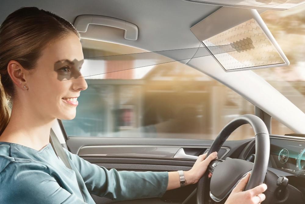 开车不怕刺眼阳光 博世正研发车用虚拟遮阳板