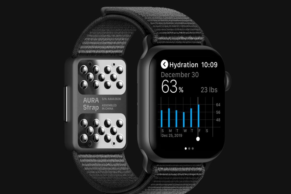 AURA智能表带问世 使Apple Watch更智能