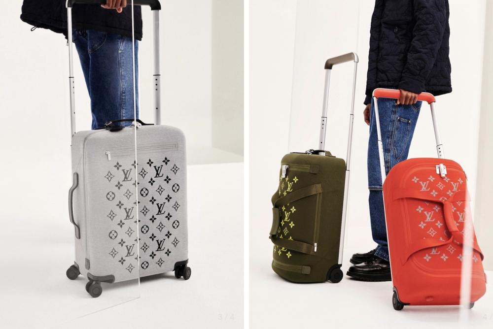 LV推出全新行李箱系列 鲜艳配色与印花完美融合