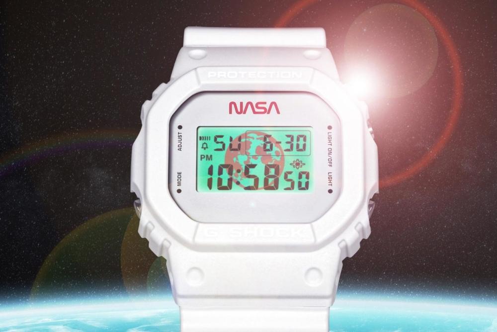 卡西欧推出NASA联名复古限量款G-Shock