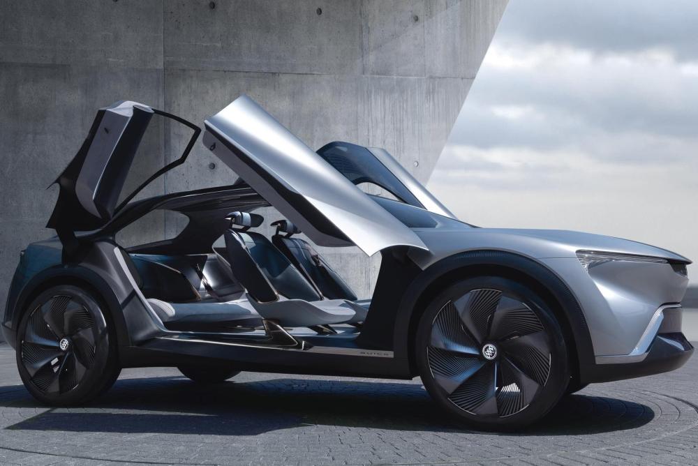 别克新能源概念车Electra亮相 太空飞船一样的造型