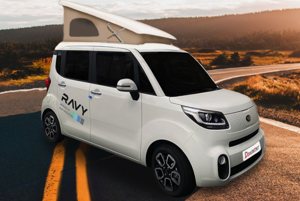 Daon TNT推出拥有升降式车顶的Ravy微型露营车