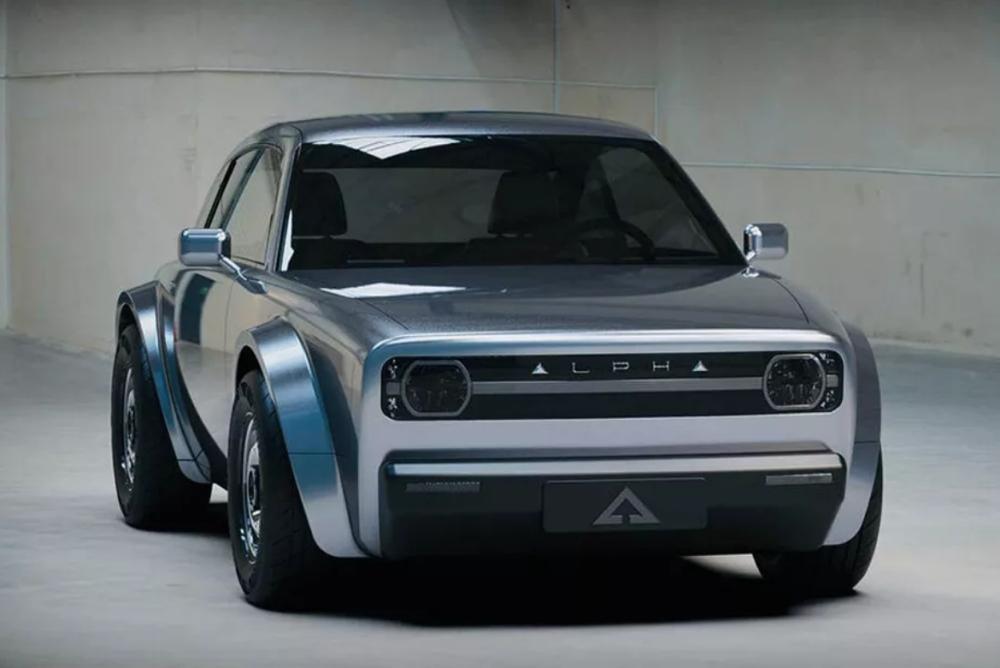 電動碰撞復古:Alpha發布全新電動概念轎跑Ace