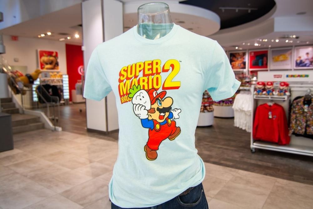 任天堂《超级马里奥》35周年纪念系列T恤上架