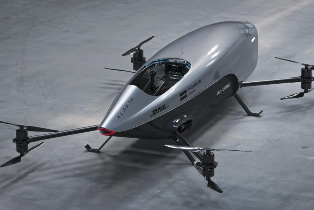 Airspeeder Mk3电动飞行赛车发布