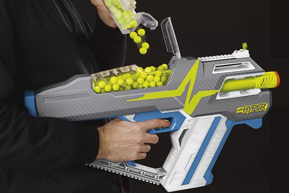 孩之宝发布NerfHyper软弹枪玩具 拥有史上最快重装速度