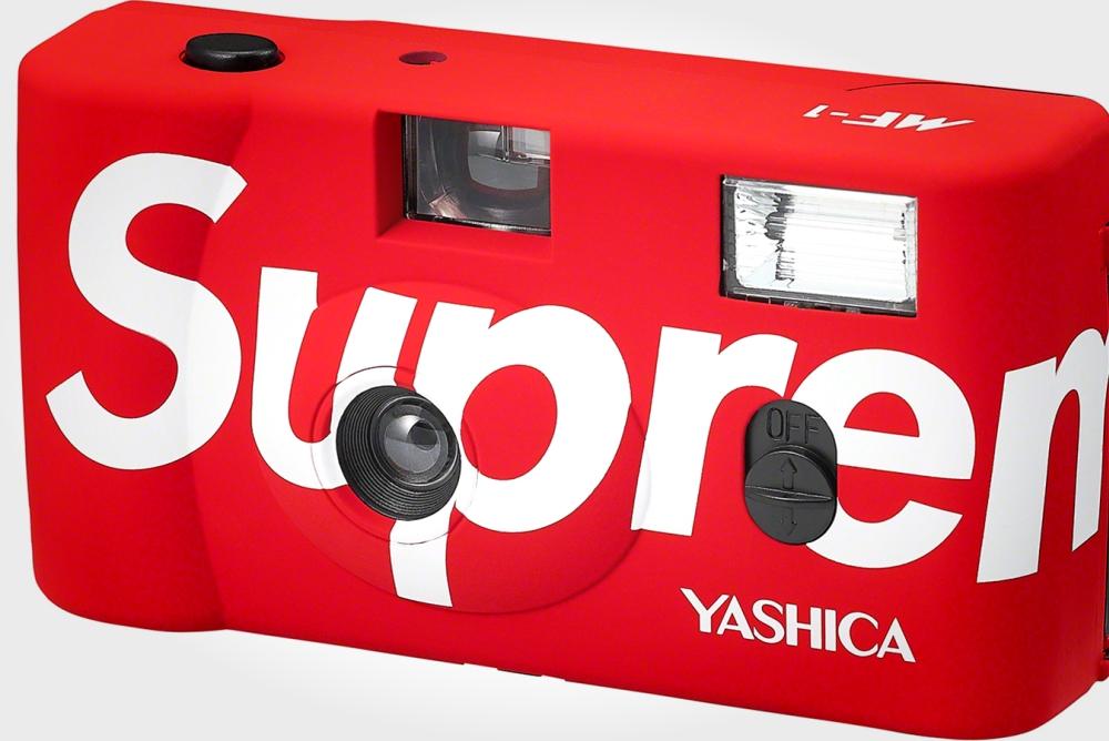 Supreme将推出特别版Yashica 35mm胶片相机