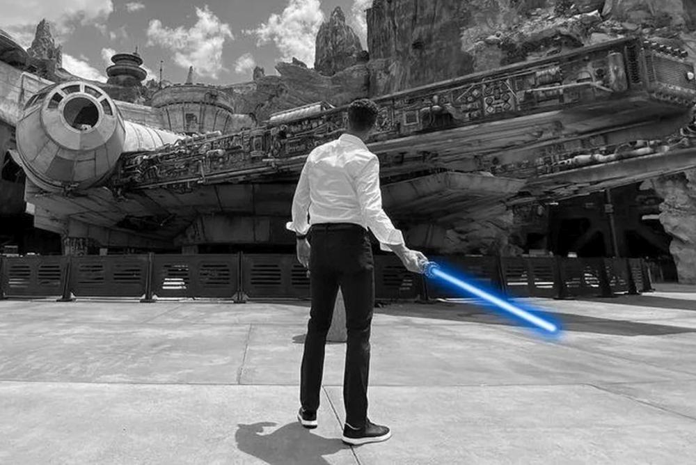 """迪士尼打造真实版""""光剑"""" 只是杀伤力没电影中那么大"""