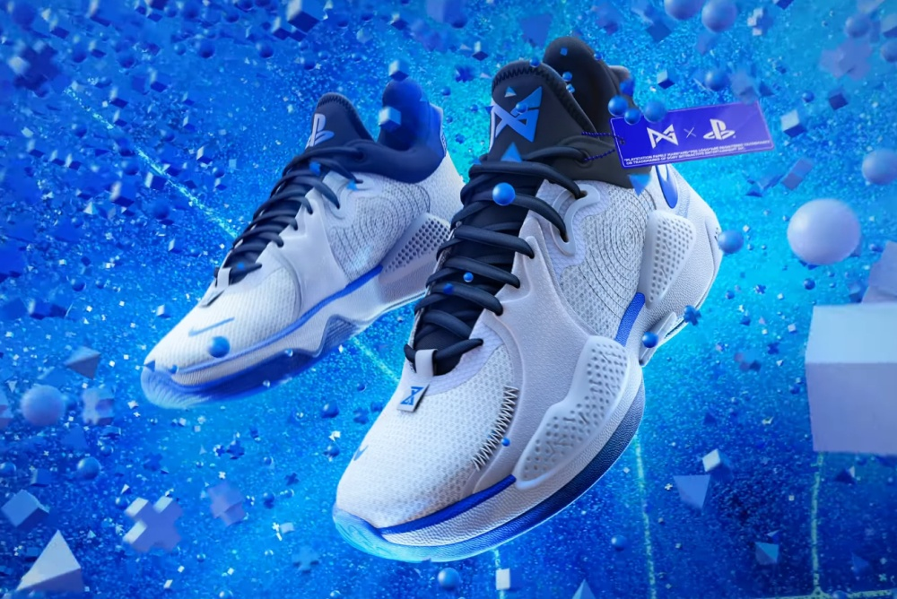 PS5联名球鞋来了!PS5、Nike和保罗合作款球鞋公布