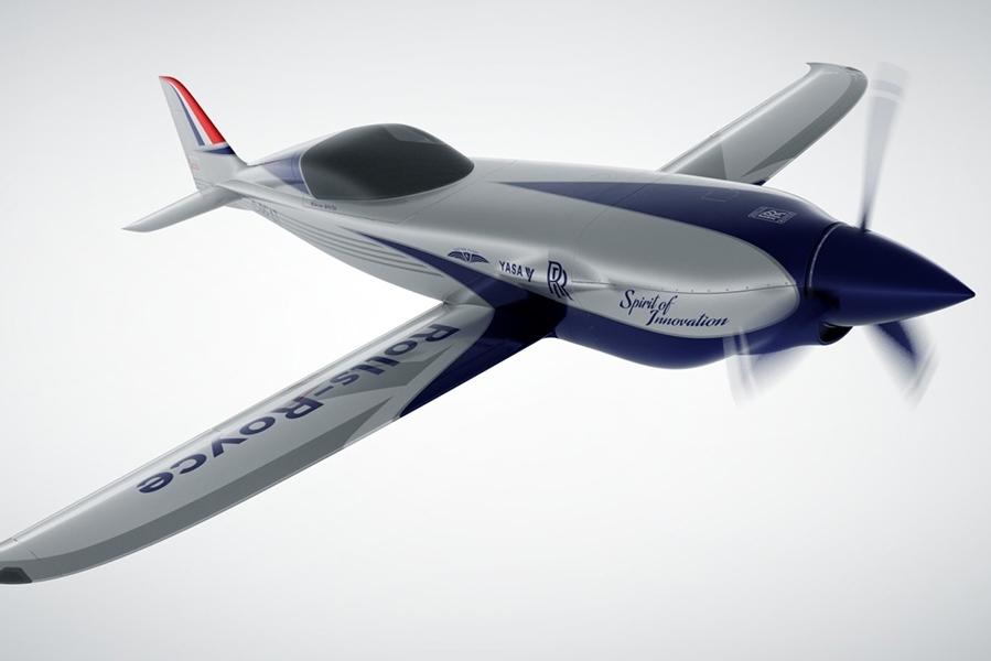 劳斯莱斯全新电动飞机曝光:续航超300公里