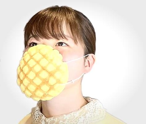 日本推出能吃的口罩