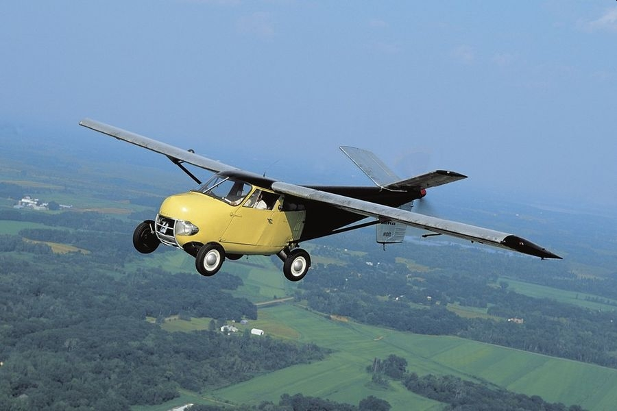 全球唯一可上路并获FAA认证的飞行汽车拍卖
