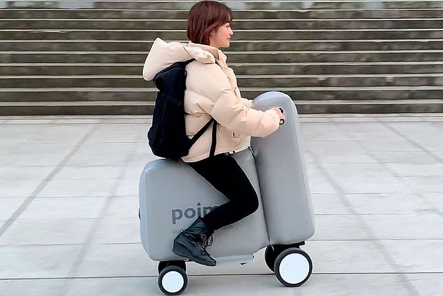 可塞进背包的电动自行车Poimo亮相
