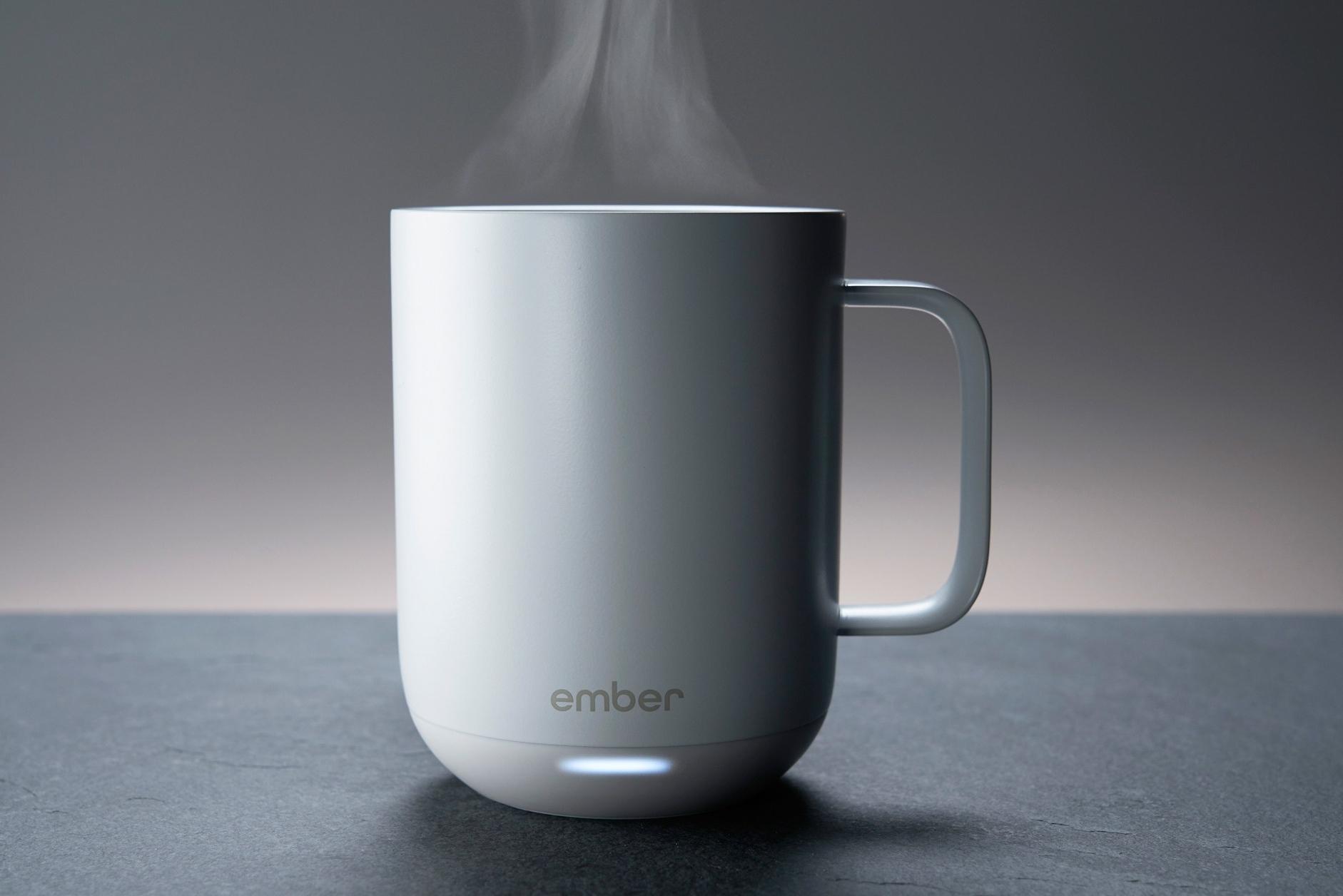 有了这只马克杯 再也不担心咖啡变凉啦