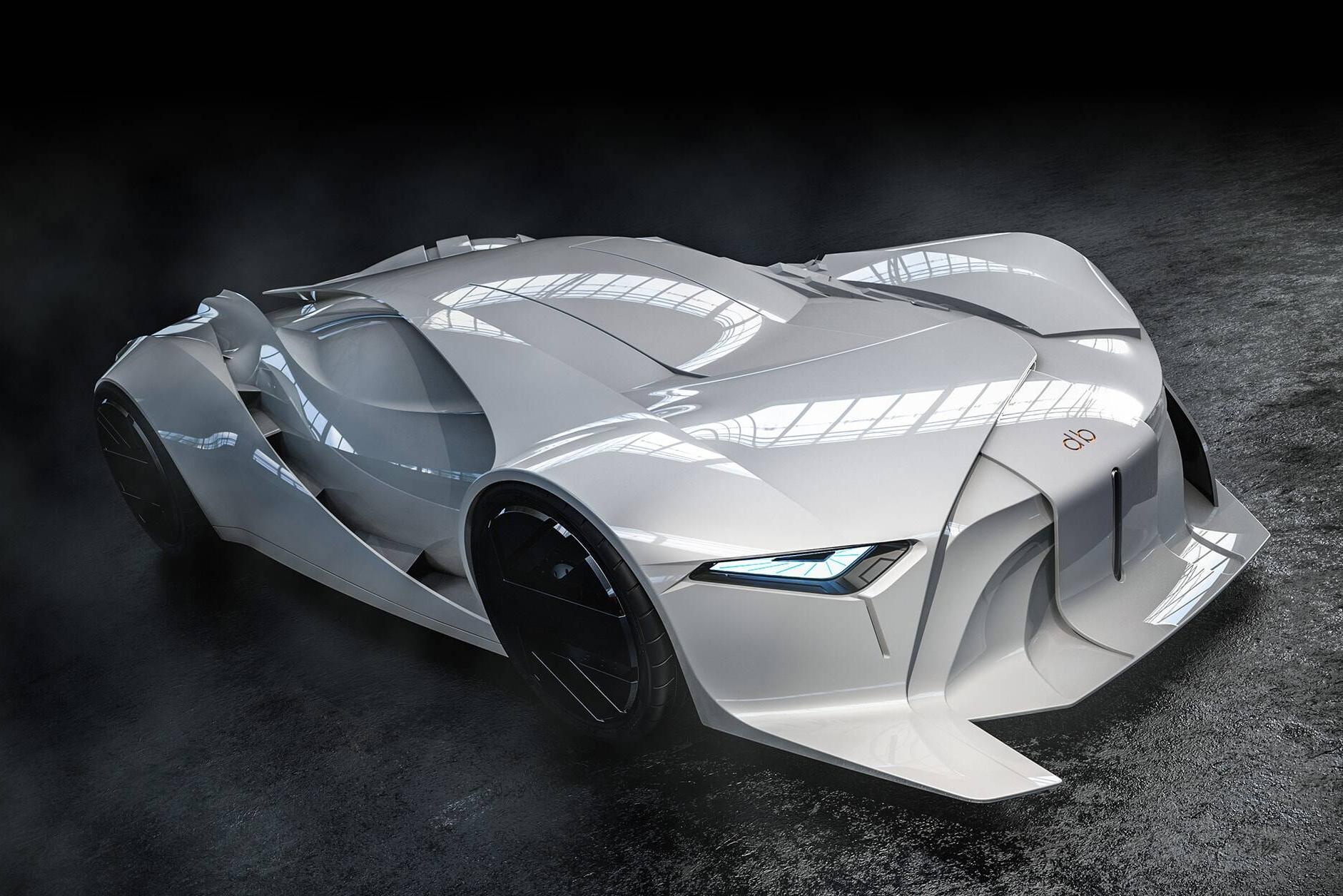 全尺寸3D打印概念车亮相 造型完全颠覆传统