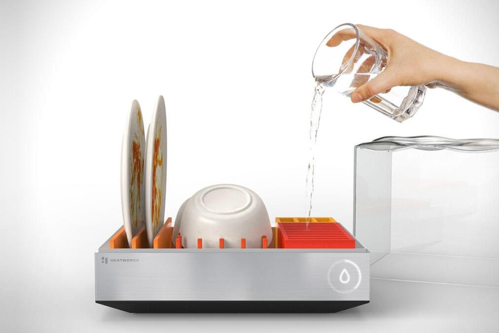 颠覆认知!无需打洞接管的洗碗机诞生