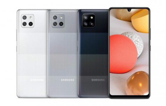 三星2021年A系列智能手机全线公布:三款5G、两款4G型号