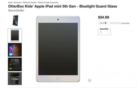 iPad mini 6屏幕保护膜广告可能是个错误
