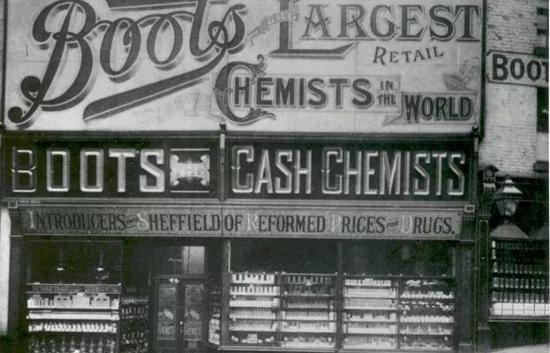 1849年的第一家博姿门店