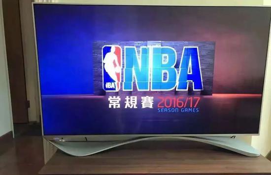 乐视TV独家版权,图源贾跃亭微博