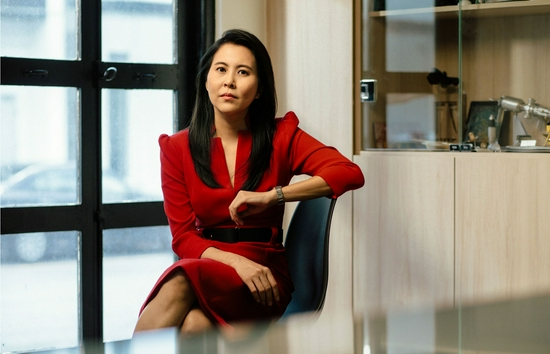 """在新加坡工作的利奈特·陈表示,她的最终目标是消除""""进入""""太空行业的""""主观障碍"""",无论是男性还是女性。图片来源:PHOTOGRAPH BY JULIANA TAN"""